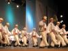 Ansamblul profesionist de dansatori populari Junii Sibiului.
