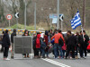 refugiati cu steagul Greciei