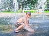 copil, apa, vreme, caldura