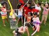 Copiii clujenilor petrec minivacanta de 1 iunie la festivalul LollyBoom din Parcul Central