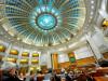 Participanti la sedinta de plen comun a Camerei Deputatilor si Senatului pentru validarea noului Guvern, la Palatul Parlamentului FOTO: AGERPRES