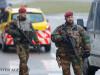 soldati belgieni fac un control la Zaventem