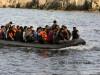 barca cu refugiati