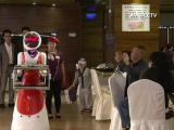 Chelnerii roboti dintr-un restaurant din China, de doua ori mai eficienti decat oamenii. Singurul lor inconvenient