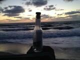 sticla plaja