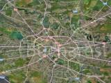 harta Bucuresti, Bing
