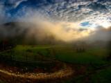 peisaj din Romania, vara