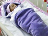 bebelus abandonat in Siberia
