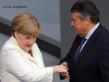 Angela Merkel si Gabriel Sigmar