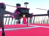 În Franța, ajutorul vine din aer. O dronă știe sa arunce victimelor un colac de salvare, înainte să ajungă salvamarii