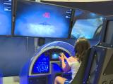 La expoziția aeronautică `Above and Beyond` din Capitală puteti testa simulatoarele de zbor