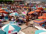 În cea mai aglomerată zi de pe litoral, 30.000 de mașini s-au îndreptat sâmbătă spre mare