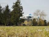 Amazon a facut prima livrare cu drona. Cat a durat zborul de cand a fost facuta comanda
