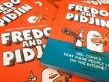 iLikeIT. Fredo si Pidjin, cei mai iubiti porumbei de benzi desenate, si-au lansat si o carte. Interviu cu autorii romani