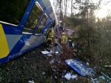 accident tren Germania twitter