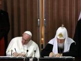Papa Francisc, Patriarhul Kiril