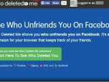 """Vrei sa afli cine te-a sters de pe lista de """"prieteni"""" de pe Facebook? O aplicatie face asta pentru tine, gratuit si automat"""