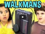 VIDEO Cum reactioneaza copiii din ziua de azi cand vad un casetofon portabil walkman?