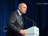 Vladimir Putin incruntat FOTO AGERPRES
