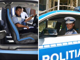 masina de politie, cancan