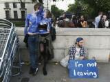 Tinerii au iesit sa protesteze in Londra, dupa rezultatul pro BREXIT al referendumului in Marea Britanie