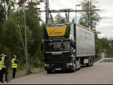 """Suedezii testeaza """"autostrada electrica"""" pentru masinile de mare tonaj. Cum functioneaza sistemul care va reduce poluarea"""