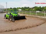 O furtuna de 30 de minute a facut prapad in localitatea Luncavita, din judetul Tulcea. Zeci de gospodarii, inundate