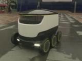 Colete livrate la domiciliu de un robot extrem de inteligent, in Marea Britanie. Cat va costa un astfel de transport