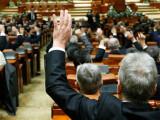 cover prima stire vot in Parlament