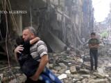 bombardament in Alep
