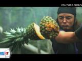 iLikeIT, viralul saptamanii. Fruit Ninja in viata reala. Imaginile care fac senzatie pe internet