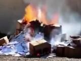 incendiere Irak