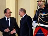 Putin si Hollande dau mana