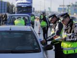 politisti bulgari oprind masini in trafic