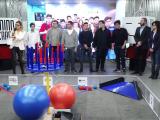 Peste 800 de elevi s-au inscris sa construiasca roboti la First Tech Challenge. Misiunea castigatorilor