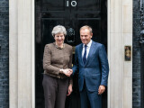 Donald Tusk si Theresa May