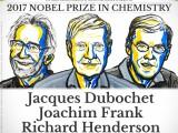 nobel 2017, chimie, Jacwues Dubochet, Joachim Frank, Richard Henderson