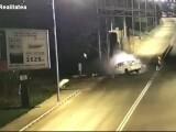 Accident carbonizat Ilfov