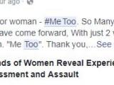 """""""Me too"""", campania lansată pe Twitter pentru victimele hărţuirii sexuale. """"Măcar știm că nu suntem singure"""""""