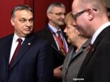 Viktor Orban si Angela Merkel - Agerpres