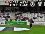 """VIATA ASTA TIN CU ""U."""" Imaginea simbol a dragostei pe care Ioan Gyuri Pascu a avut-o pentru fotbal si Universitatea Cluj"