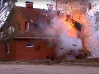 casa de rugaciune a ISIS in Rusia aruncata in aer