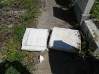 profanare morminte cimitirul evreiesc FOTO: SILVIU VREXLER