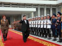 Kim Jong Un, inspectie militara