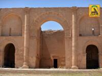 Capturarea orasului antic Hatra
