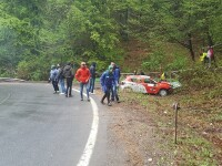 Campionatul National de Viteza in Coasta, accident