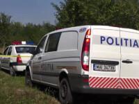 masini de politie in padure