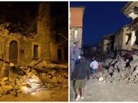 cutremur Italia, colaj