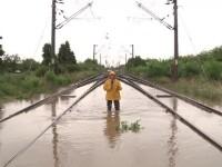 Inundatii calea ferata