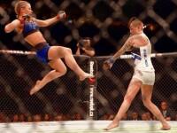 O fata a reusit KO-ul ANULUI! Ce lovitura fabuloasa a reusit cu piciorul! VIDEO